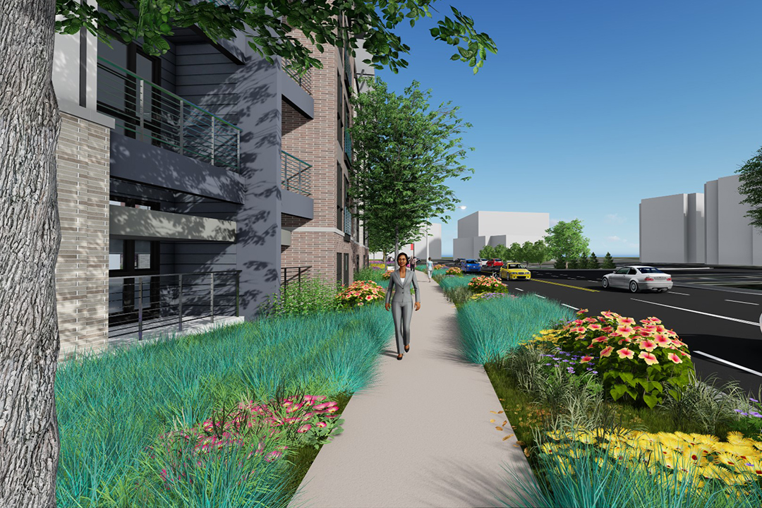 Landscaping Woodland Wa : Visualization services your project brought to life in d